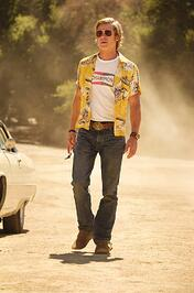 Brad Pitt in Once Upon a Time in Hollywood-1