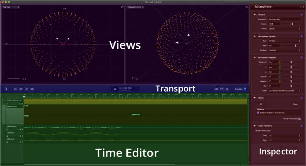 Sound Particles Project View
