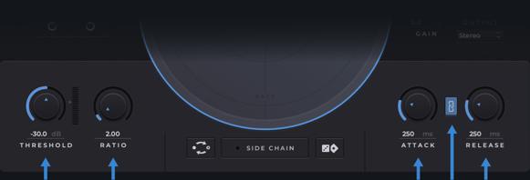 controls - transparent