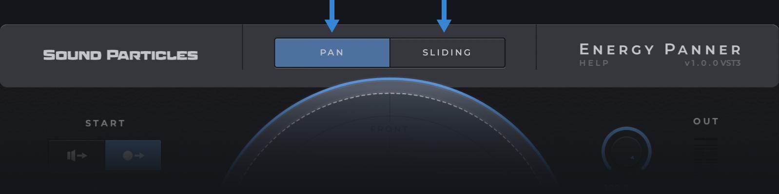 pan sliding - transparent
